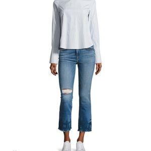 Frame Denim Jeans le high straight with raw edge